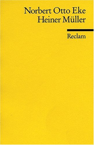 Heiner Müller: (Literaturstudium)