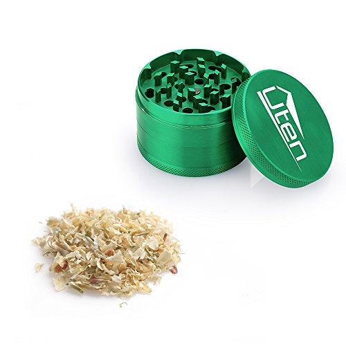 Uten-254-Piece-Zinc-Alloy-Tobacco-Spice-Weed-Herb-Grinder-with-Pollen-Catcher-green