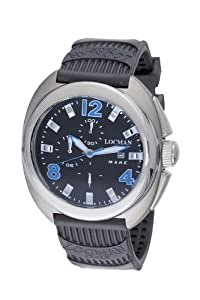 Locman Men's 130BK Mare Collection Titanium Watch by Locman