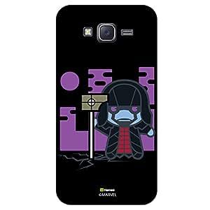 Hamee Original Marvel Character Licensed Designer Cover Slim Fit Plastic Hard Back Case for Samsung Galaxy J5 - 2016 Edition (Kawaii Ronan the Accuser /Black )