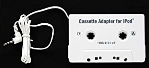 Car Stereo Cassette Tape Adapter for MP3 iPod Classic CD [Electronics]