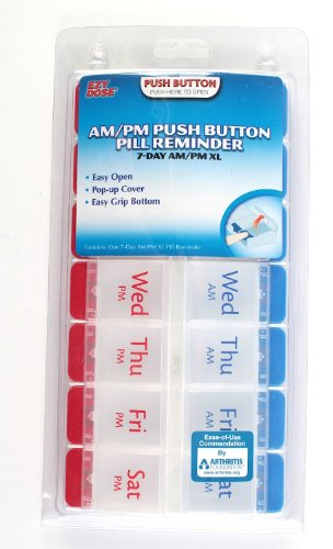 Ezy-Dose-7-Day-AMPM-Travel-Pill-Container