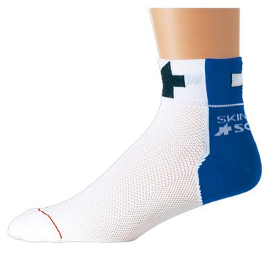Buy Low Price Assos Summer Skinweb Cycling Socks – Blue – 2100.125.2 (B000QU6BPW)