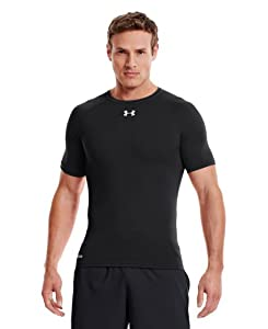 Under Armour Men's HeatGear® Sonic Compression Short Sleeve Large Black