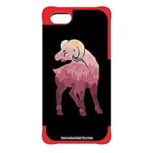 Skin4Gadgets Mountain Goat Phone Designer RED CARGO CASE for APPLE IPHONE 6 PLUS