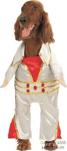 Pet Elvis Dog Halloween Costume For Large Dogs