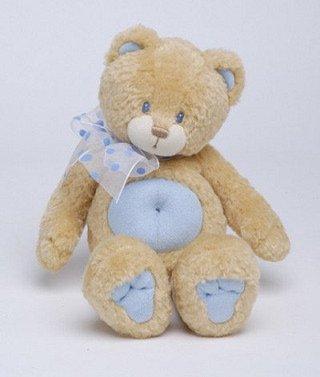 Huggles Brown and Blue Bear 16