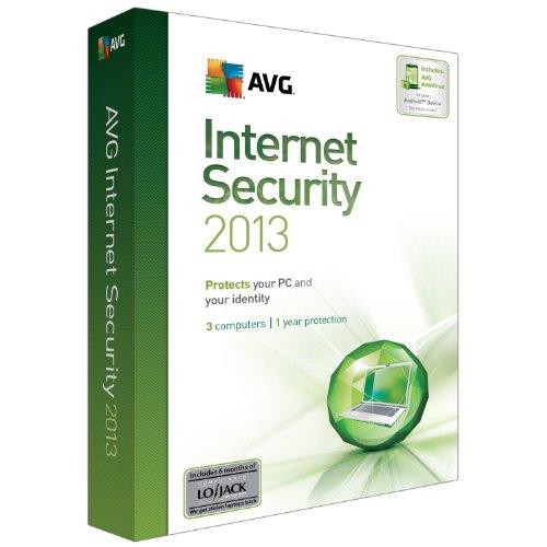AVG TECHNOLOGIES USA INC AVG Internet Security 2013 3U 1Y