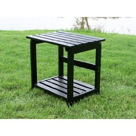 Cedar Side Table, Black
