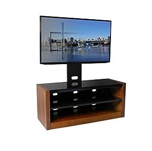 "Amazon.com: Kanto MESAPL46WAL 46"" MESA Flat Screen TV Stand with Mount"