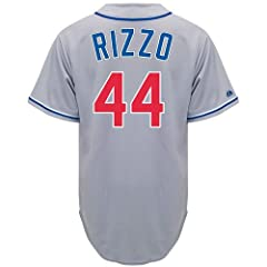 Anthony Rizzo Chicago Cubs Alternate Road Replica Jersey by Majestic by Majestic