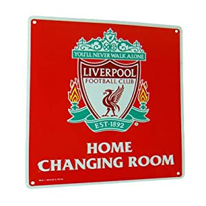 Liverpool F.C. Home Changing Room Sign from Official Football Merchandise