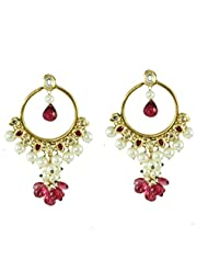 BGS Style Diva Gold Plated Metal Earring For Women - B00L2EJ58G