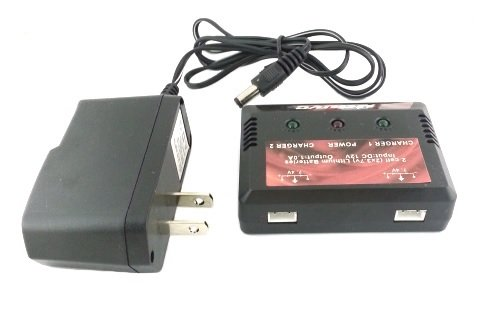 Dual Battery Charger for WL Toys V262 RC Quadcopter