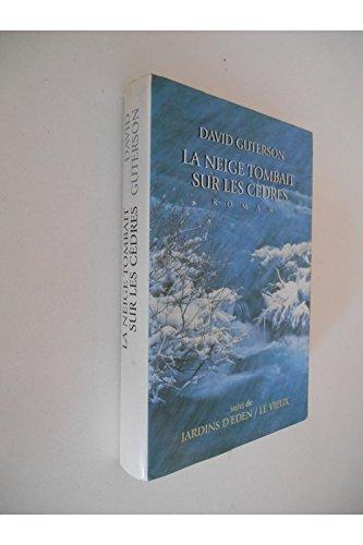 La neige tombait sur les cèdres / Guterson, David / Réf: 29984