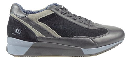 HENRY COTTONS PLYMOUTH SNEAKERS UOMO [162.M.564 506 71] - 43, NERO