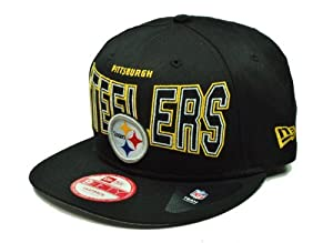 Era Headwear Outter Snapback Nfl Football Pittsburgh Steelers Hat Cap 950 Size Small/medium