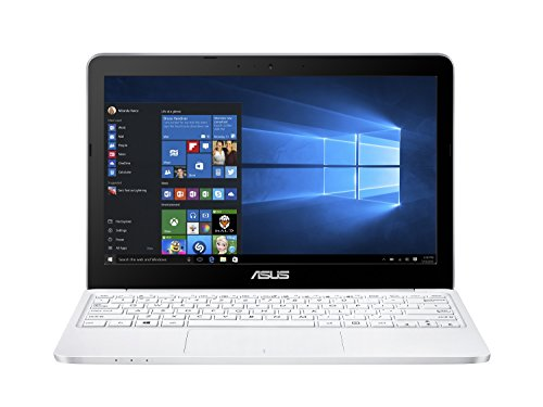 "Asus E200HA-FD0080TS PC portable 11.6"" Blanc (Intel Atom, 4 Go de RAM, SSD 32 Go, Windows 10, Garantie 2 ans) + Office 365 Personnel inclus pendant 1 an"