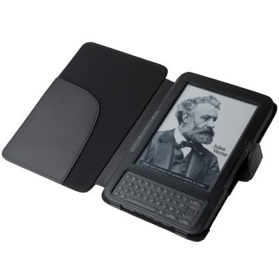 """CE Compass Cover Case for Kindle 3 (3rd Third Generation 6"""" Kindle Wi-Fi + 3G) Black"""