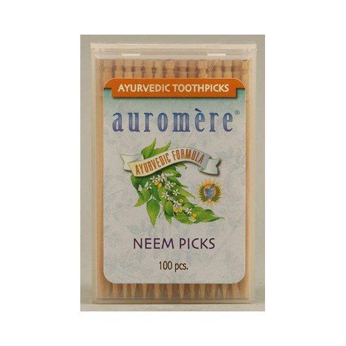 auromere-auromere-ayurvedic-neem-picks-100-ct