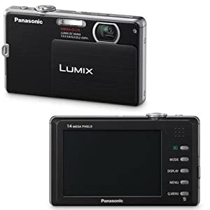 Panasonic Lumix DMC-FP3 14.1 MP Digital Camera with 4x Optical Image Stabilized Zoom and 3.0-Inch Touch-Screen LCD (Black)