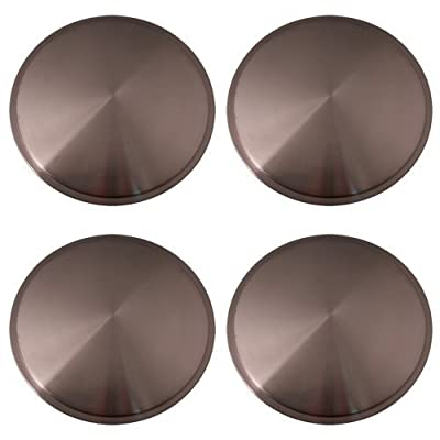 Set of 4 Stainless Steel 15 Inch Full Moon Racing Discs with Metal Clip Retention System - Part Number: IWCRD/15