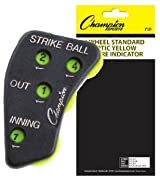 Champion Sports PIB 4 Wheel Umpire Indicator