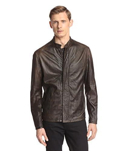John Varvatos Collection Men's Leather Jacket