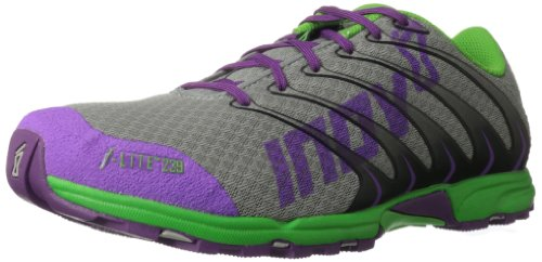 Inov-8 Women's F-Lite 239 Cross-Training Shoe,Grey/Purple/Green,8 D US