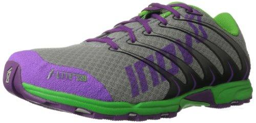 Inov-8 Women's F-Lite 239 Cross-Training Shoe,Grey/Purple/Green,8 D US