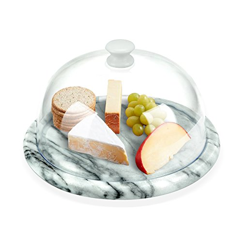Aroma Bakeware Cheese Dome With Marble Base Plate (Marble) (Cheese Board compare prices)