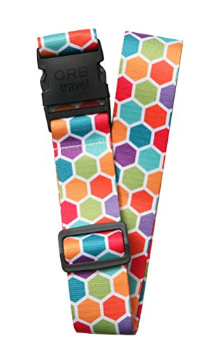 ORB Travel Premium Designer Luggage Strap 2