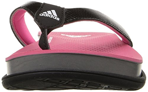 Adidas Performance Women's Supercloud Plus Thong W Athletic Sandal,Black/Solar Pink/Grey,8 M US