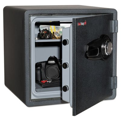 Fireking - One Hour Fire And Water Safe With Combo Lock, 3.66 Cu. Ft., Graphite
