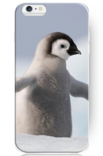 Sprawl New Funny Design Personalized Hard Plastic Snap On Slim Fit 4.7 Inch Iphone 6 Animal Case Penguin Baby On Snow