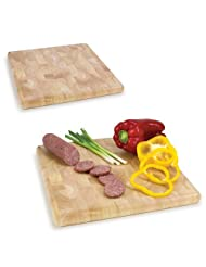 Butcher Block Cutting Board and Serving Tray by Picnic+Time