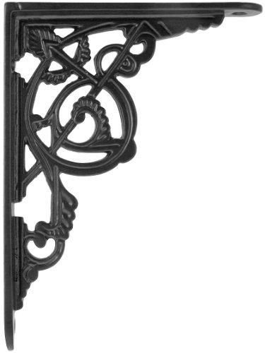 iron shelf brackets