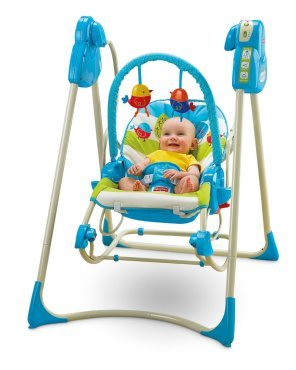 Fisher-Price Smart Stages 3-in-1 Swing n Rocker