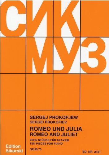 プロコフィエフ : 「ロミオとジュリエット」よりピアノのための10の小品/シコルスキ社