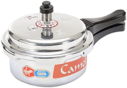 Camel-Stainless-Steel-Aluminum-2-L-Pressure-Cooker-(Outer-Lid)