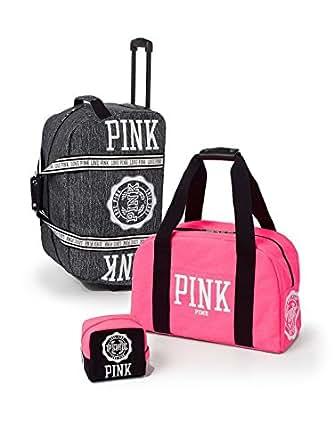 Amazon.com: Victoria's Secret Pink Ltd Ed 3 Piece Travel