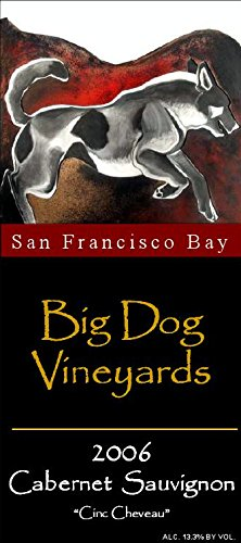"2006 Big Dog Vineyards Estate ""Cinq Cheveau"" Cabernet Sauvignon 750 Ml"