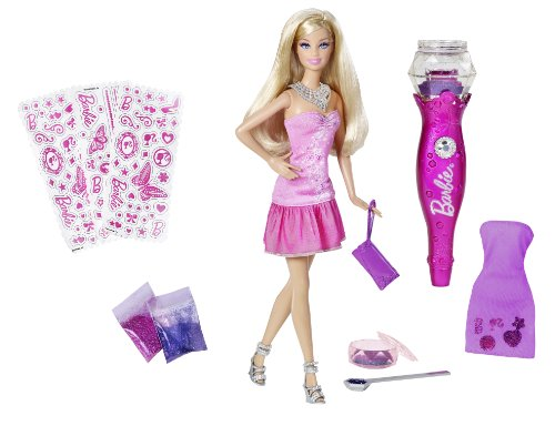 Barbie Fashion Glitter Glam Doll