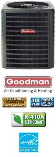 4 Ton 16 Seer Goodman Air Conditioner - SSX160481 (16 Seer Ac Unit compare prices)