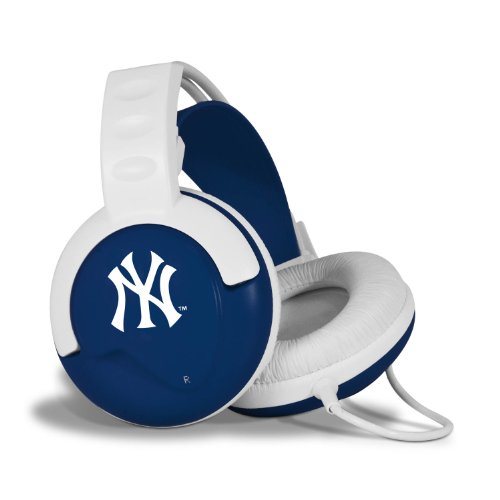 Pangea Brands Fan Jams MLB Headphones - New York Yankees at Amazon.com