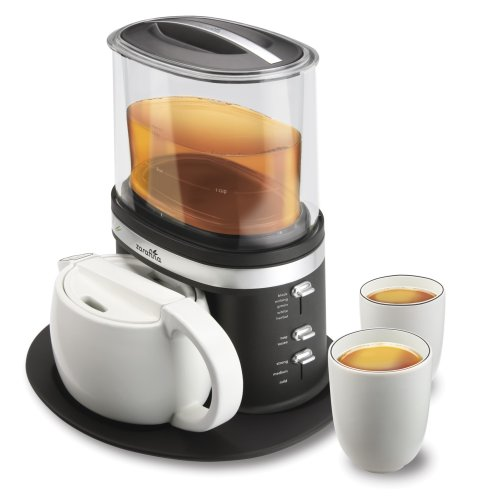 Zarafina Tea Maker Suite with Ceramic Tea Pots, Cups, and Serving Tray Best Deals
