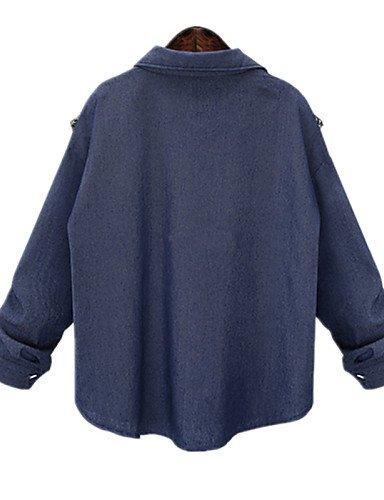 ZXR-Fashion-Plus-Tailles-Collier-pour-femme-avec-courroie--manches-longues-pour-femme