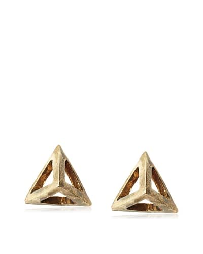 Karlita Designs Brass Pyramid Studs As You See