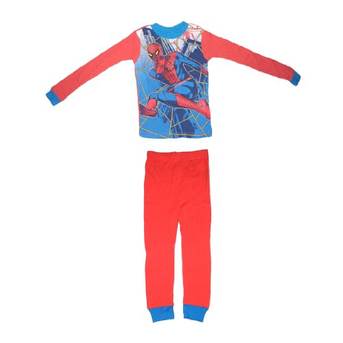 2 PCS SET: Spider-Man Boys Or Girls Sleepwear Pajama Long Sleeve Top & Pants Set