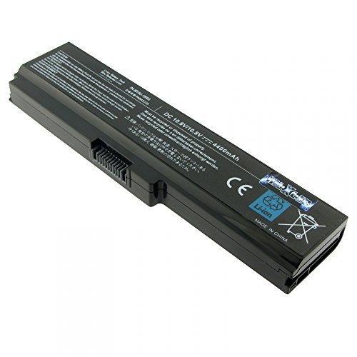MTXtec batterie pa3817U - 1BRS, pa3817U - 1BAS, 10,8 v, li-ion (4400mAh, 48 wH) noir pour toshiba satellite pro l 770-14H remplace adapté au toshiba s